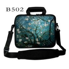 Van Gogh Prunus 11.6,13.three,14.1,15.6 inch Pocket book Pc Laptop computer Sleeve Bag Case for Males Girls Briefcase Shoulder Bag