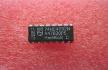 10 шт./лот 74HC4052N 74HC4052 Двойной 4-канальный Аналоговый Мультиплексор, демультиплексор DIP-16 74 Logic IC