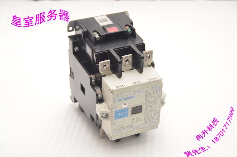 Genuine FOR MITSUBISHI  AC contactor S-N125 200-220V 440 550V mitsubishi heavy srk28hg s