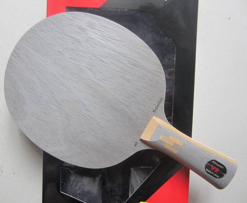 Original Palio V2 (V 2, V-2) 5 wood+2carbon+2titanium table tennis blade for fast attack with loop racquet sports pingpong paddl palio official calm 01 calm 1 table tennis blade 5wood 2carbon blade fast attack with loop ping pong game