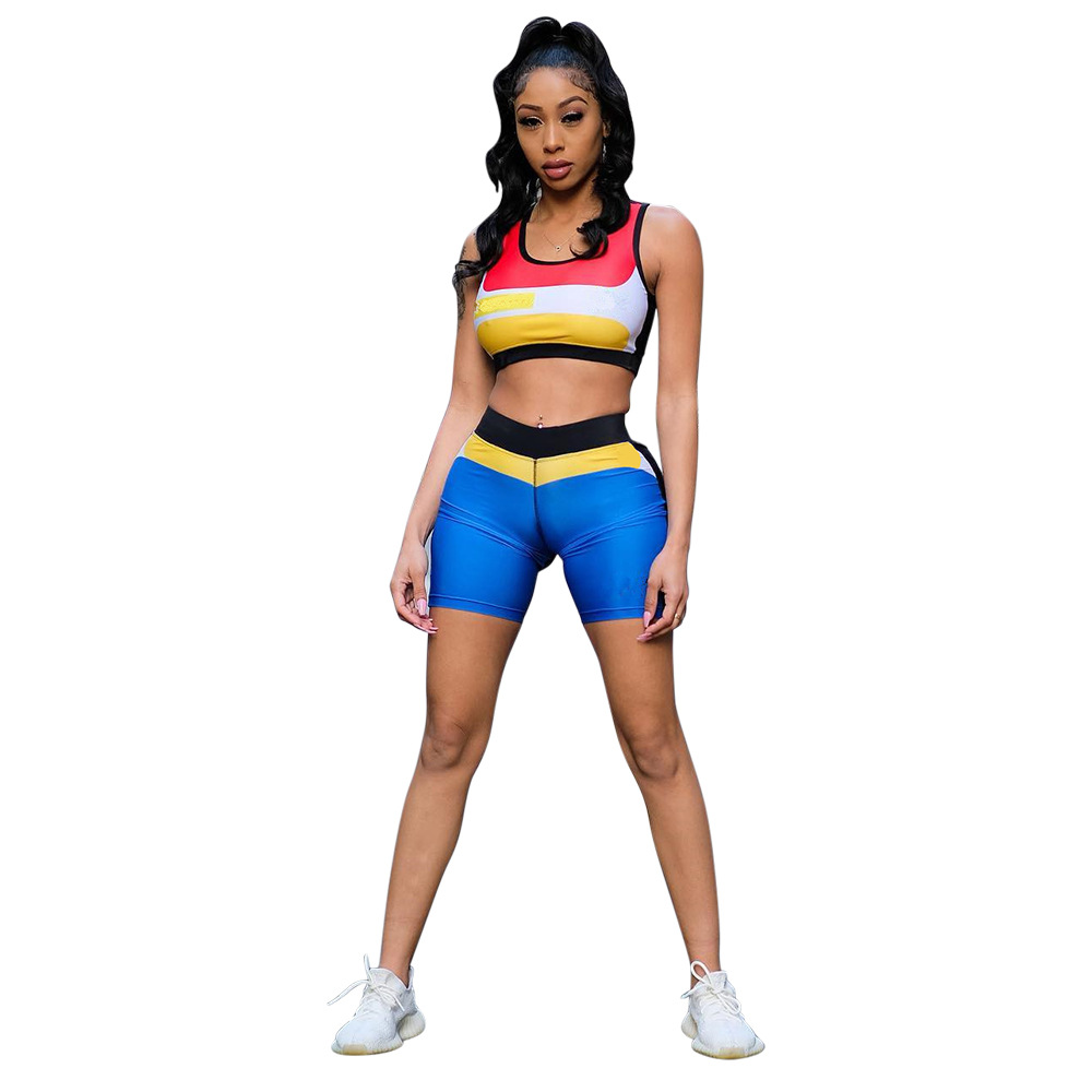 Spring Summer Women Two Piece Set Top And Shorts Plus Size Outfits Tracksuit Sweatsuit Outfit Active Causal Sets