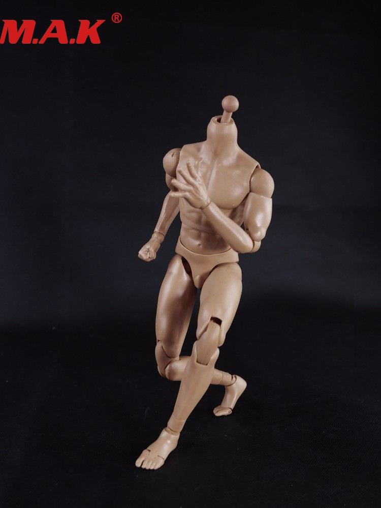 6 Scale Action Figure Female Nude Körper Soldaten /& HAND Modelle 1