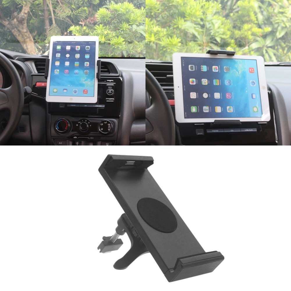 Universal 360 Degree Rotating Car Air Vent Mount Holder Stand For iPad 2 3 4 Air Galaxy Tab 2 S3 iPhone 6P 7 Plus