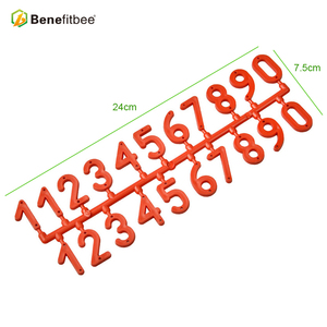 Image 3 - Benefitbee 3PCS/pack Plastic Beehive Sign Digital Number Box Sign Hive Mark tool Beekeeping Marking Board Beehive Numbers