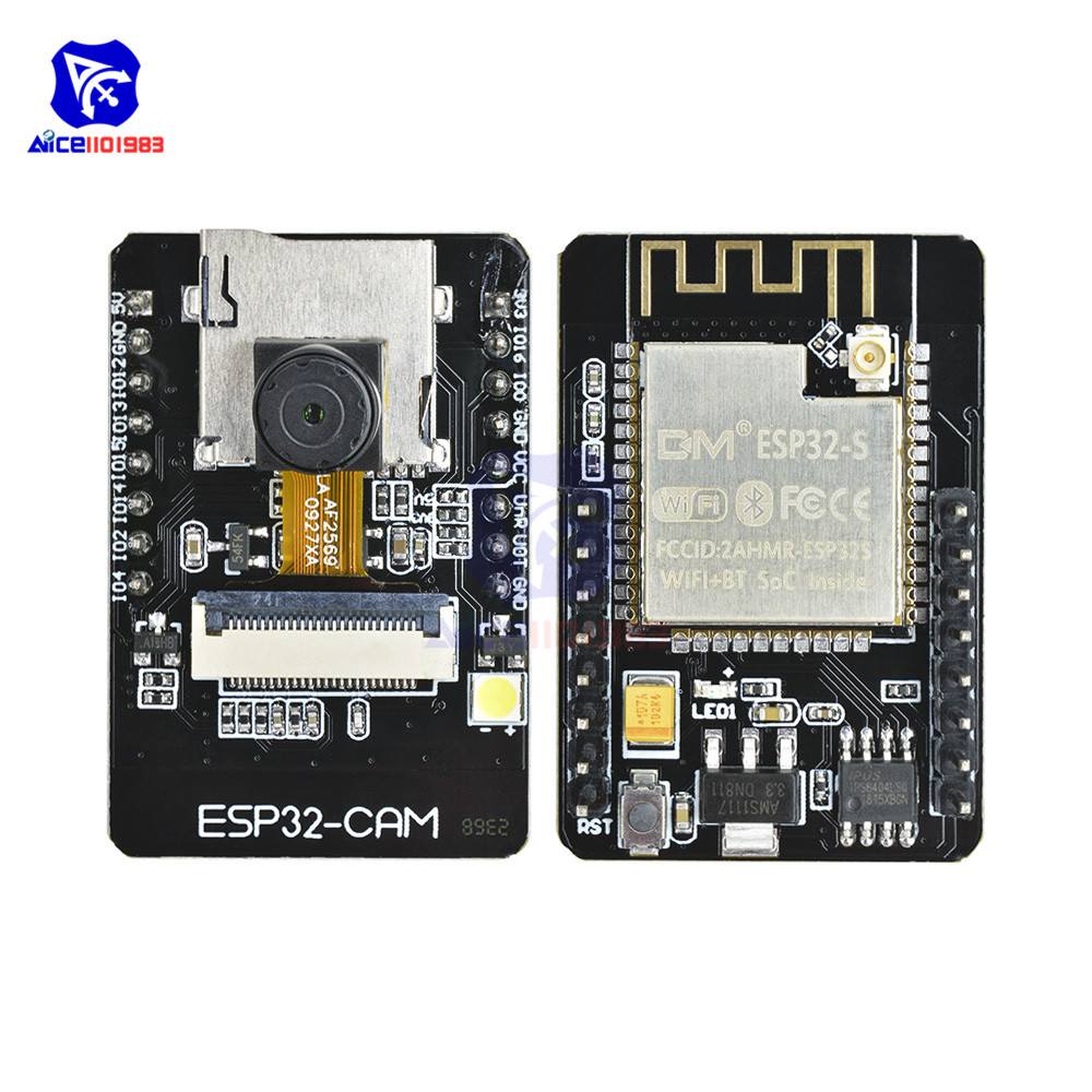 ESP32-CAM ESP32-S WIFI Bluetooth Expansion Board OV2640 2MP Wireless Camera Module ES8266 ESP32S W/ IPEX Socket For Arduino MCU
