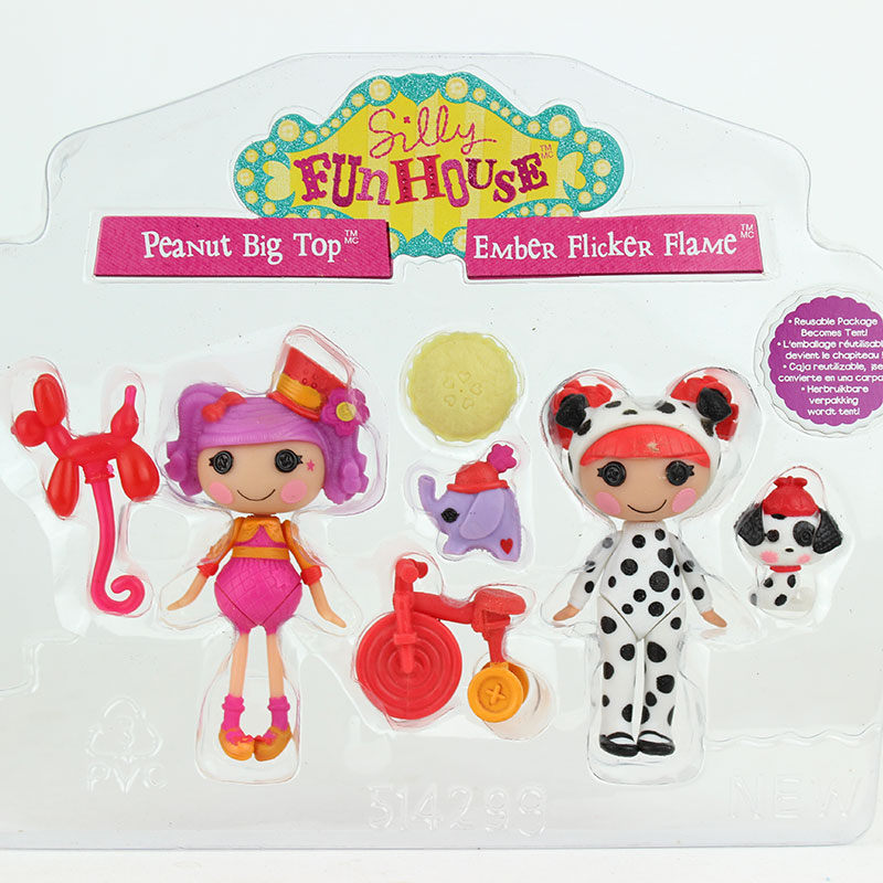 Hot 2Pcs doll+4pcs Accessories 3Inch Original MGA Lalaloopsy Dolls With The Accessories ,Mini Dolls For Girl's Toy Playhouse цена 2017