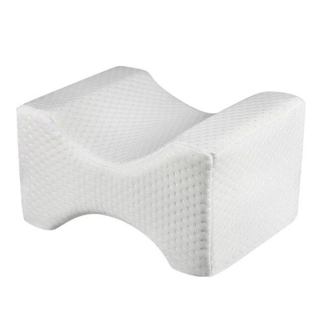 Almofada travesseiro para perna do joelho, travesseiro com espuma de memória para cama, almofada para perna, molde a gravidez, alívio da dor no corpo, travesseiro para dormir
