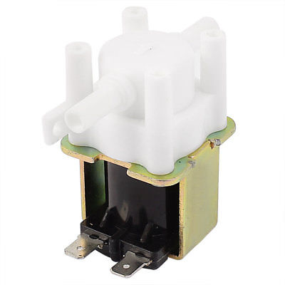 DC24V 1A Low Pressure Inlet Water Pump Feed Solenoid Valve for 6.5mm Pipe zndiy bry 24v 1 4 inlet feed water solenoid valve for water purifier dispenser white black