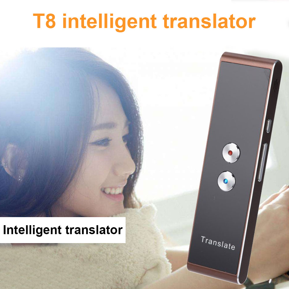 Smart Voice Speech Translator Two-Way Real Time 30 Language Translation for Travelling Meeting New XXM8