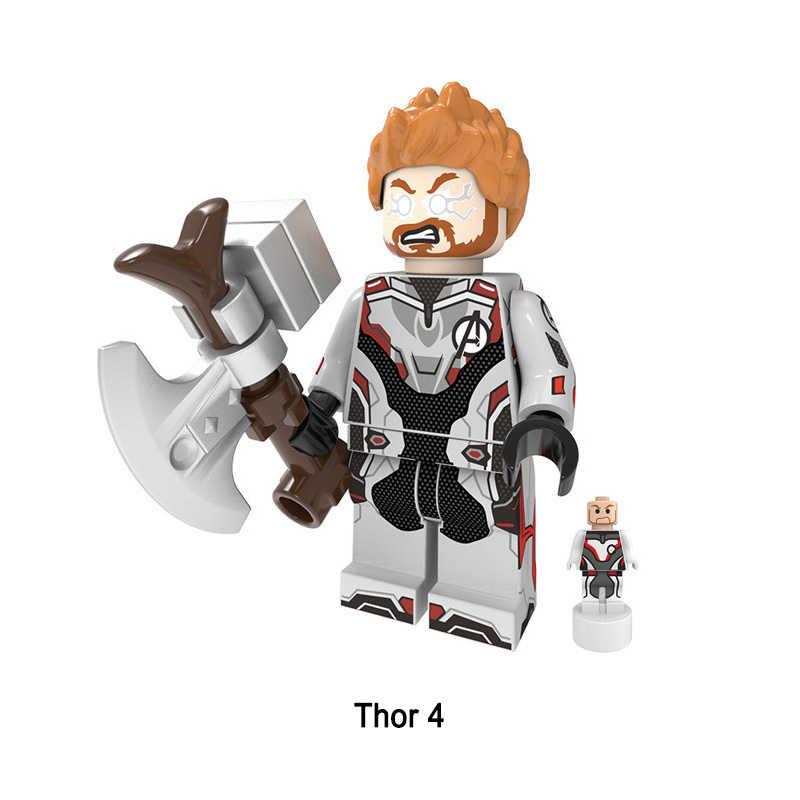 Marvel super heróis figura modelo brinquedos vingadores endgame hulk thor capitão américa thonas infinito gauntlet blocos de construção brinquedo