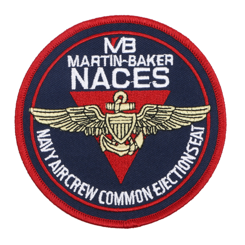 NACES MARTIN-BAKER NAVY AIRCREW COMMON EJECTIONSEAT BADGE PATCH -36343