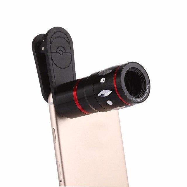 2017 Universal Клипы 10X Телефото Линзы Lentes Оптический Зум Телескоп Объектив Камеры для iPhone 7 6 5 4 S Samsung note 4 5 Xiaomi