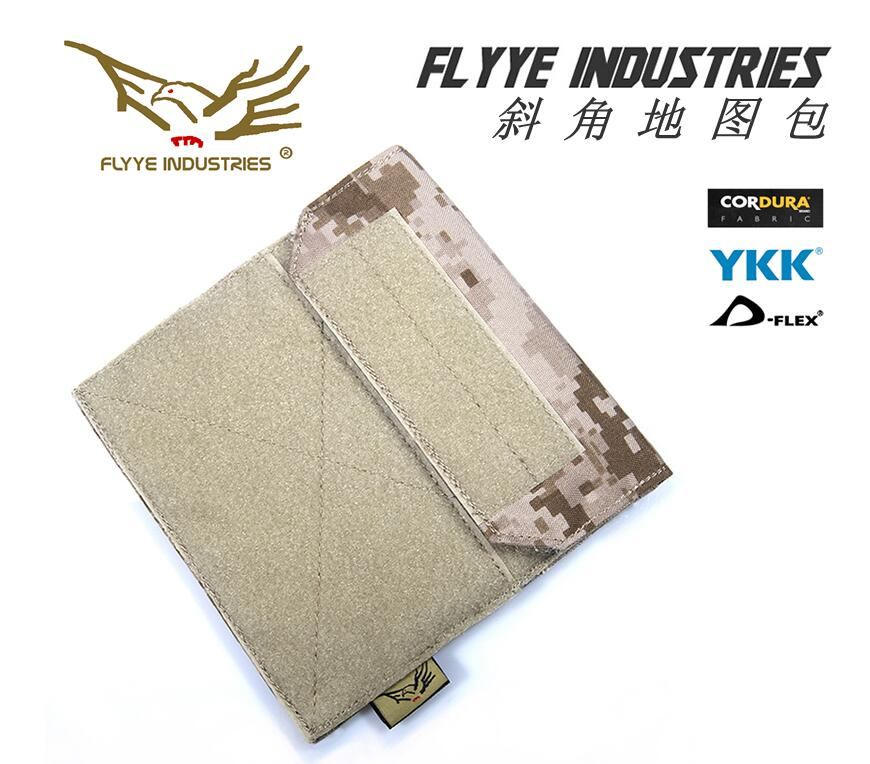 In stock FYLLE Genuine CORDURA Waterproof Nylon Molle Tactical Admin Map Pouch Military Combat Admin Pouches