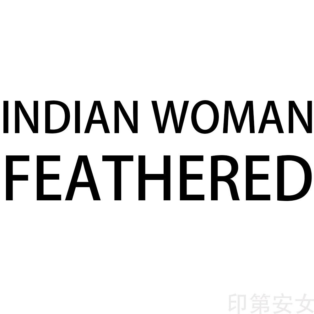 HDARTISAN Lona de arte de pared fotos mujer india con plumas para la sala de retrato pintura decoración de hogar, sin marco
