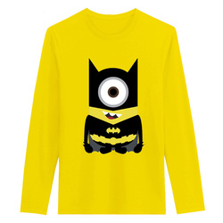 Anime minion is the dark knight funny cotton t shirts long sleeve o neck tops.jpg 250x250