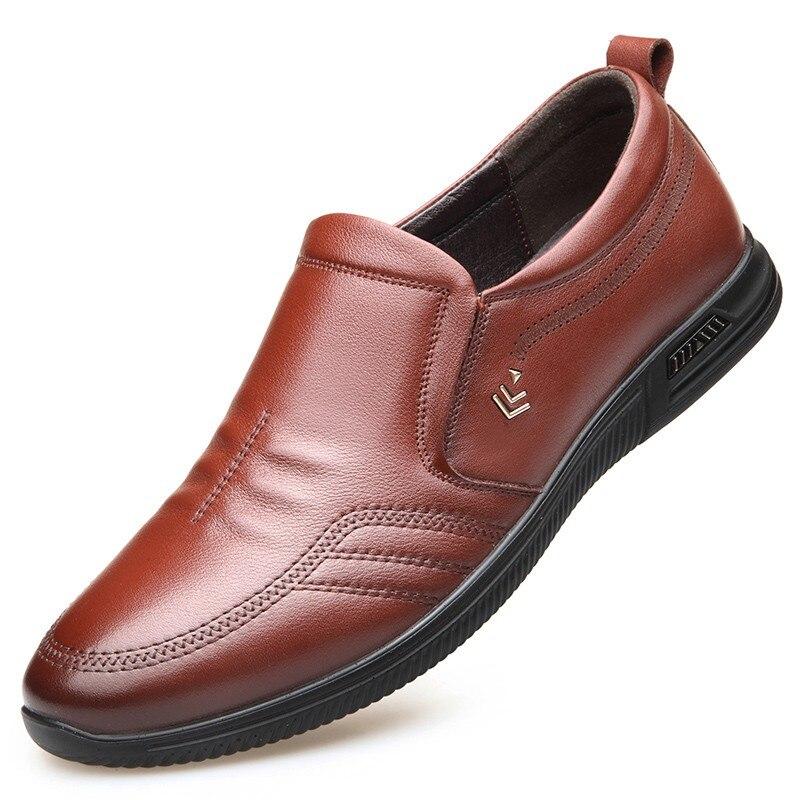 2 1 Novos Primavera Homens Confortáveis Sapatos Moda Casuais 2019 Flats Da040 Verão Genuínos De Masculina Couro Vaca Calçados Taqc5cdxwv