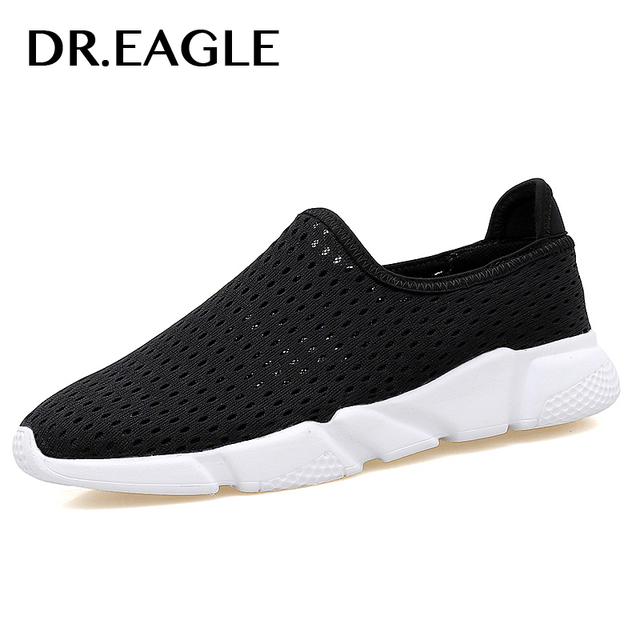 a55ede5a9539 EAGLE Men sports shoes male Outdoor black running shoes for men air mesh  men sneakers White free flexible light men sneaker