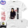 Envío Libre 13 Modelos de Michael Jackson camisetas de Algodón ropa de los hombres ropa Del Estilo Del Verano de los hombres camisetas con el regalo