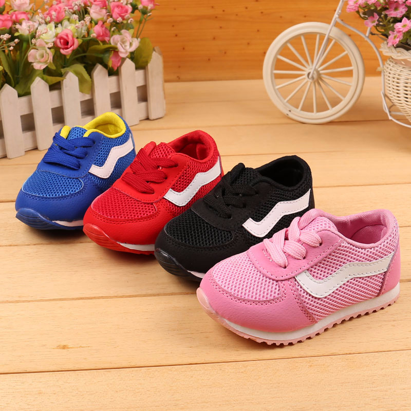 spring/autum baby girls shoes boy shoes 3-12 years old kids spring shoes children hole mesh breathe shoe boys sandals 1577