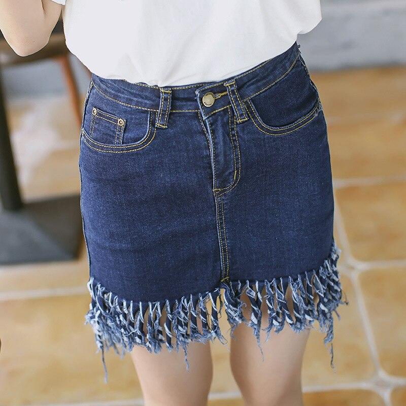 HTB1jwQOMpXXXXX2XFXXq6xXFXXXj - Denim Skirt Irregular Tassels Midi Skirt JKP170