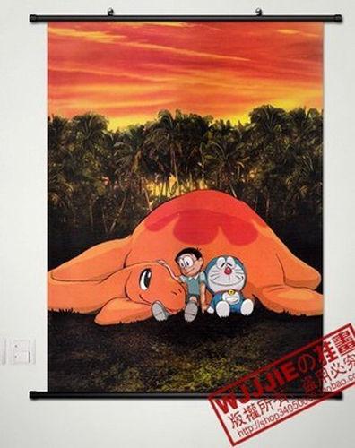 Anime Doraemon Home Decor Poster Wall Scroll