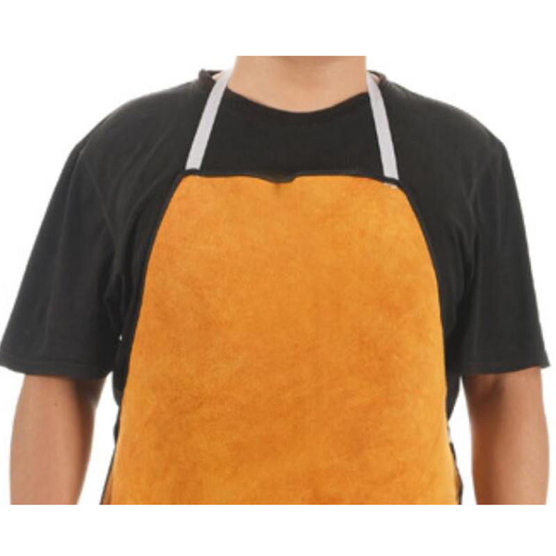 Workplace Safety Supplies Security & Protection Responsible New Durable Leather Welding Long Coat Apron Protective Clothing Apparel Suit Welder Workplace Safety Clothing