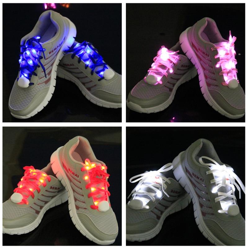 Mr.Niscar 1 Paar Leuchten Mode LED Luminous Schnürsenkel Nacht Flash - Schuhzubehör - Foto 3