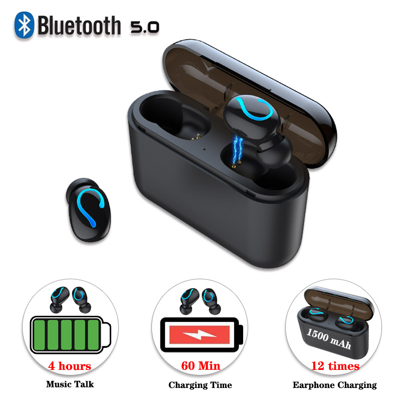 Wireless Bluetooth 5.0 <font><b>Earphones</b></font> For <font><b>Huawei</b></font> <font><b>honor</b></font> 20i 10i 10 20 <font><b>9</b></font> <font><b>lite</b></font> V20 V10 note 8X MAX 8A 8C 6X Play Music Earbuds Headset image