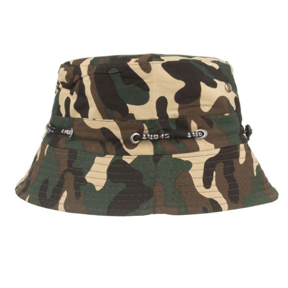 78b5fafacb ... Fisherman Bob Hat Chapeu Femmes Hip Hop  isherman Cap Military Panama  Safari Boonie Sun Hats Cap