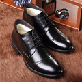 men oxfords shoes wedding dress leather shoes casual plush winter work shoes pointed toe man's business shoes calzado AK110116