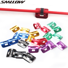 Bicycle brake line cable buckle mtb road bike hydraulic brake line C-type line buckle convenient self-adhesive C buckle taiwan sec 1 line type electric scissors convenient