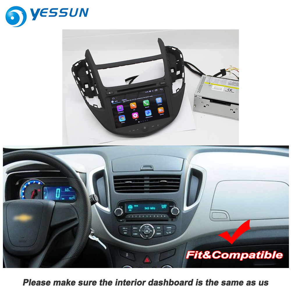 Us 458 28 24 Off Yessun For Chevrolet Trax 2012 2018 Car Android Carplay Gps Navi Maps Navigation Dvd Cd Player Radio Stereo Multimedia In Car