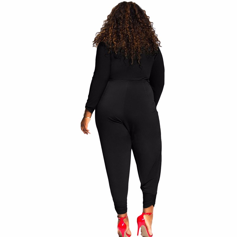 Black-Twist-Knot-Slit-Long-Sleeve-Plus-Size-Jumpsuit-LC64162-2-2