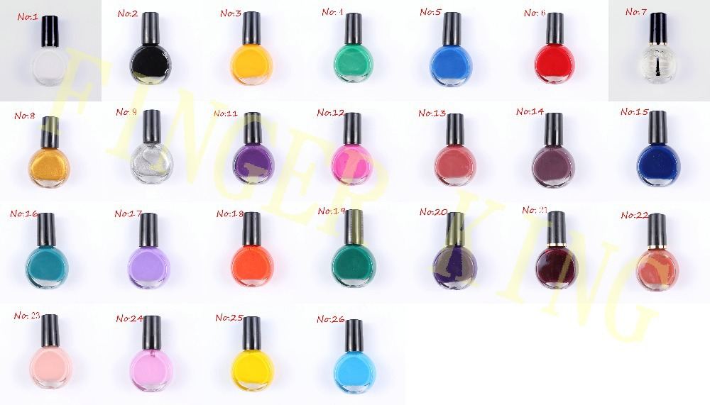 Best Price 3bottle Nail Art Image Transfer Diy Nail Polish 10ml