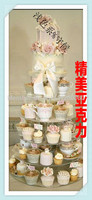 6 Tier Of Acrylic Cake Birthday Cake Stand Wedding Cupcake Can Be Customized Acrylic Cupcake Stand