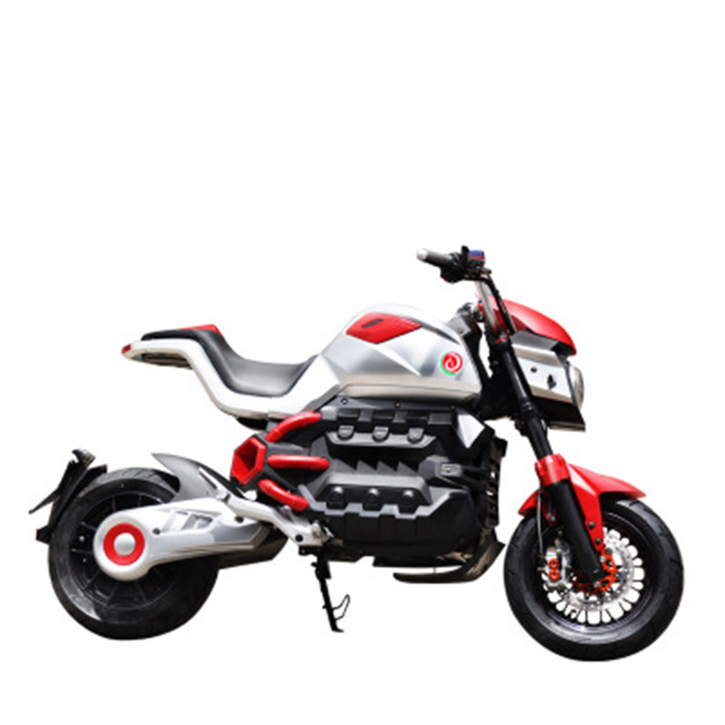 Adult electric motorcycle electric bike electric motorcycles 72V20A battery 2000w motor LCD electronic instrument