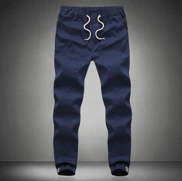 2016 Hombres de La Manera Harem Pantalones Deportivos Para Hombres Casual Joggers Pantalones de Chándal Negro Azul de Color Caqui Verde Del Ejército Tamaño Grande M-4XL 5XL