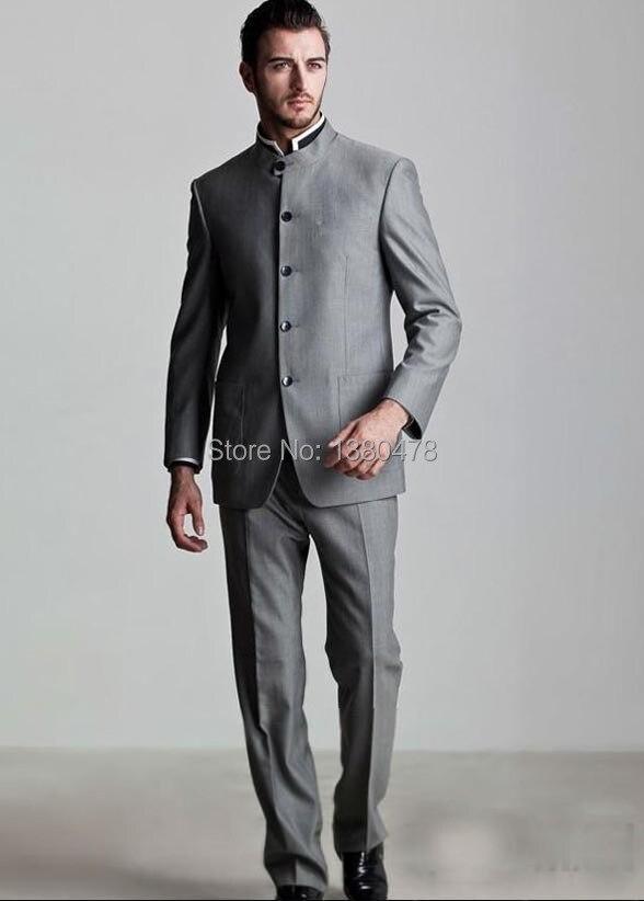 Costumes 2016 Mariage Mode Groomsman veste Argent Smokings Gratuite Pantalon Marié Meilleurs Hommes Livraison De Formelles r1nnWxwqA