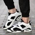 Kuyupp felpa tamaño 36-44 zapatos de los hombres de lujo de la pu de cuero hop baja los hombres Zapatos Casuales Para Unisex Negro Blanco Moda 2017New Llegada Y152