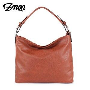 Image 2 - ZMQN Luxury Handbags Women Bags Designer Casual Tote Shoulder Bag For Women 2020 Patchwork Ladies Hand Bags PU Leather Big C861