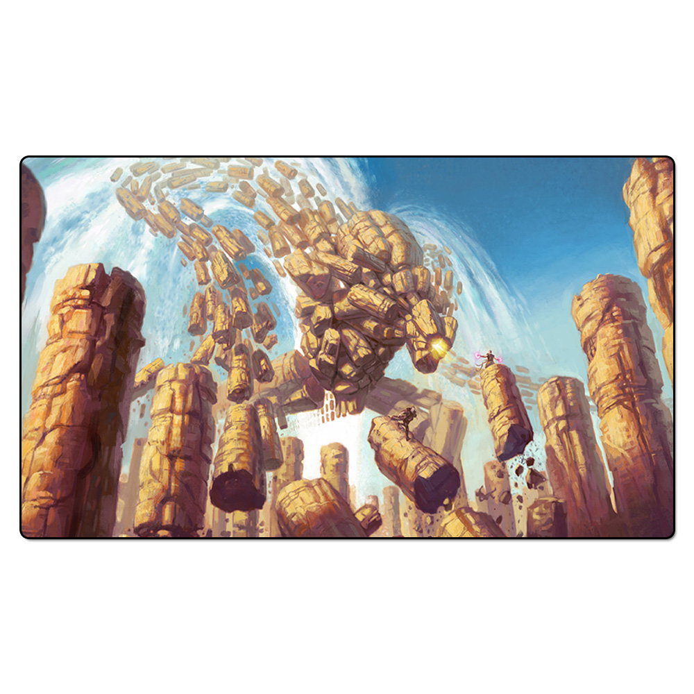 (Celestial Colonnade) Board Games Playmats, Magical Card The Games Gathering Play Mat, Custom Design Playmat with Free Gift Bag