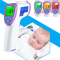 Fever Prompt Baby/Adult Digital Termomete Infrared Forehead Body Thermometer Gun Non-contact Temperature Measurement Device