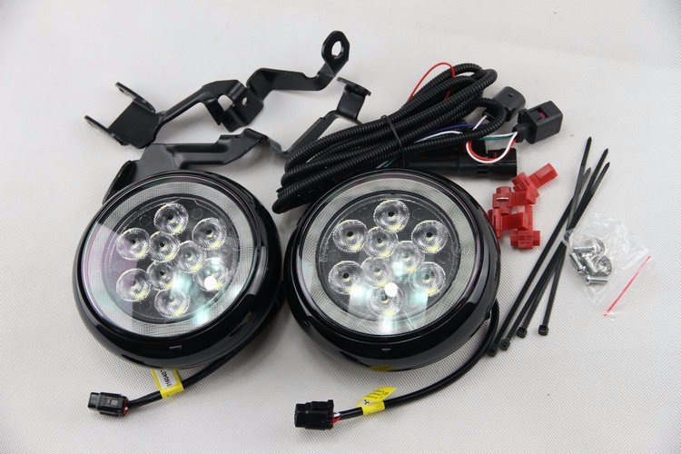 mini rally driving DRL angel eyes light (3)
