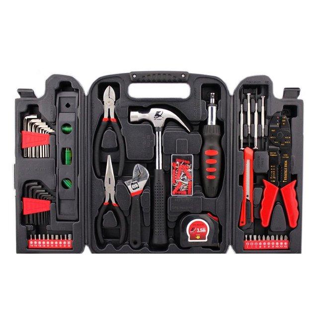 STARPAD 129 conjuntos de ferramentas de hardware doméstico combinação kit de reparo em casa terno