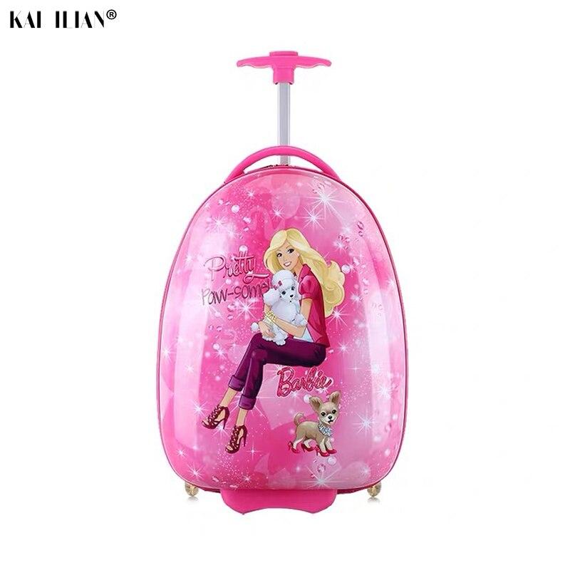 Enfants valise enfants voyage Trolley valise à roulettes valise pour enfants roulant bagages valise enfant voyage bagages sacs case - 3