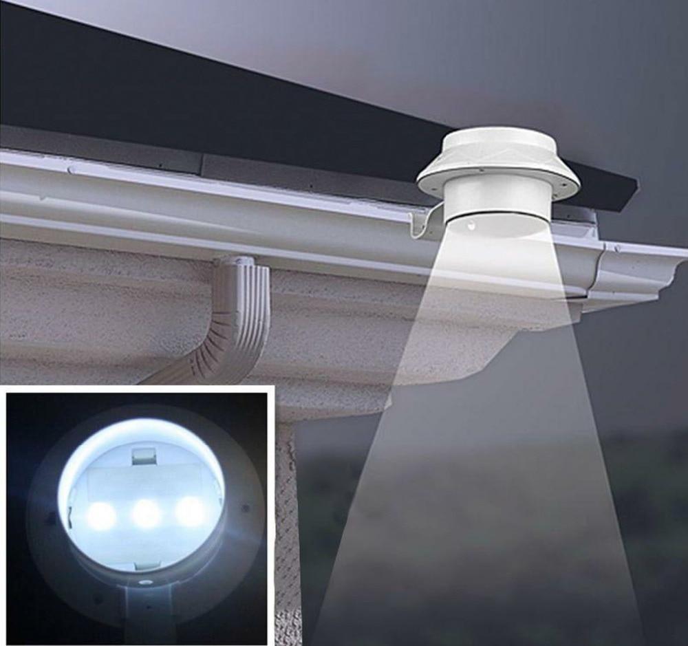 Lâmpadas Solares a energia solar 3 fence Fonte de Luz : Lâmpadas Led