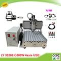 LY 3020Z D500W USB 4 axes assemblé mini fraiseuse CNC taxe gratuite à la russie|mini cnc milling machine|cnc milling machine|mini cnc -
