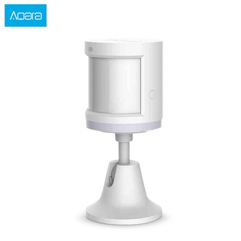 Original Xiaomi Aqara Mijia Smart Temperature Human Body Sensor PIR Motion Sensor Movement Home Security Zigbee Connection