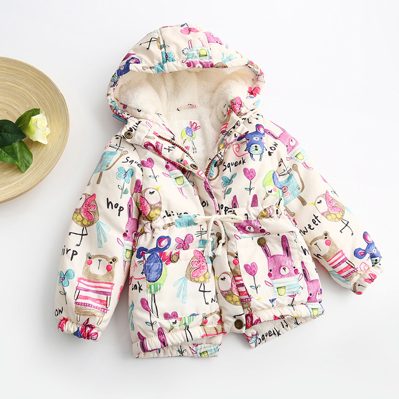bebê meninas quente outerwear crianças roupas do bebê