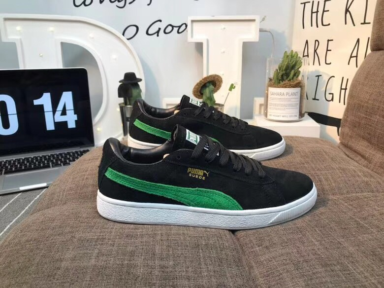 5a4ac5d5 US $52.73 5% OFF Puma shoes Puma Suede Classic BBOY Fabulous 50th  Anniversary Classic Shoes size 36 44-in Badminton Shoes from Sports &  Entertainment ...